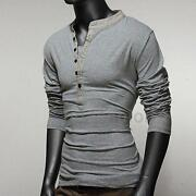 Mens Henleys Tops