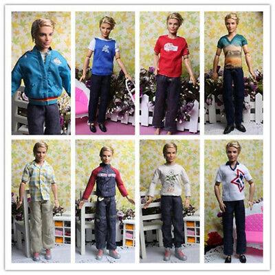 5Pcs Fashion Beautiful Clothing Sets For Boy Friend Ken Doll