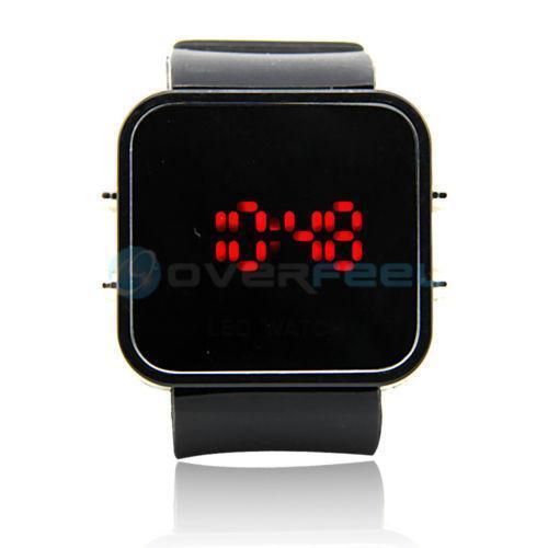 Mirror LED Watch