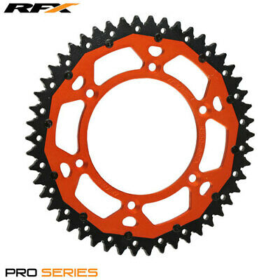 For KTM EXC 400 LC4 1993 RFX Pro Series Armalite Rear Sprocket (Orange 51T)