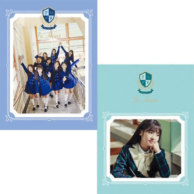 FROMIS_9 [TO. HEART] 1st Mini Album RANDOM CD+Photo Book+Card+Letter+2p Photo