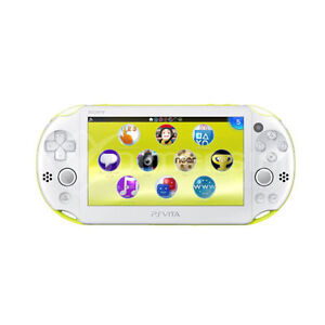 Sony-PS-Vita-Console-WiFi-Japan-Ver-PCH-2000-Lime-Green-16GB-Memory-Card-U4880