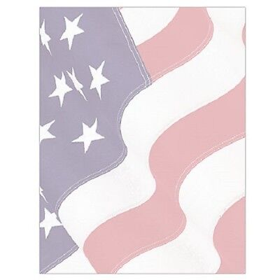 FORAY® Letterhead Design Paper, US Flag, 8 1/2