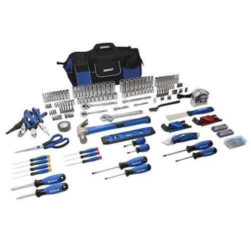 Household Tool Set 230 Piece Soft Case Hand Tools Heavy Duty