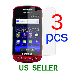 3pcs Samsung Admire R720 Clear LCD Screen Protector Cover
