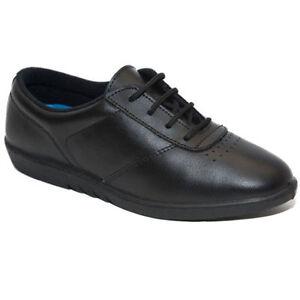 shoes hospital leather walking flat womens
