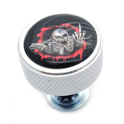 Polished Billet  Finger  Knurled Custom Seat Bolt For 1996   2013 Harley