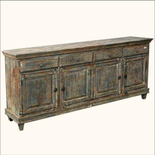 Reclaimed Wood Sideboard Ebay