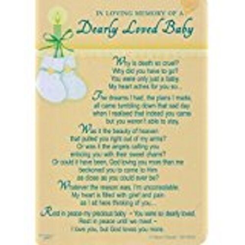 In Loving Memory Of A Dearly Loved Baby Loss Of Child / Sympath xy35035