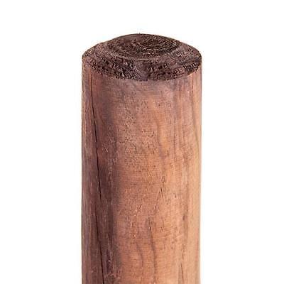 175 Holz (Zaunpfahl Holzpfahl Baumpfahl Zaun Pfahl Rundpfahl HaGa® 175cm Höhe 10 Stk)