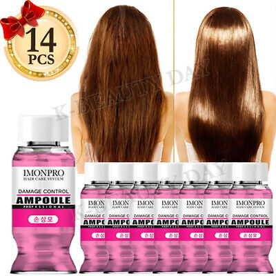 Solid Damage Hair Control Hair Ampoule * 14pcs / Protein Treatment Moisture Hair