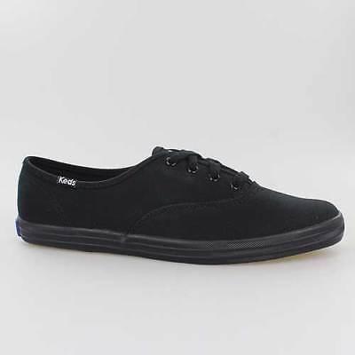 Schuhe Keds Schuh (KEDS DAMEN SCHUHE CHAMPION MONO CHROME CORE BLACK SCHWARZ CANVAS WF24700)