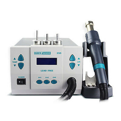 Quick Soldering 861DW 1,000W Digital Rework Station Free Shipping 110V STOCK USA