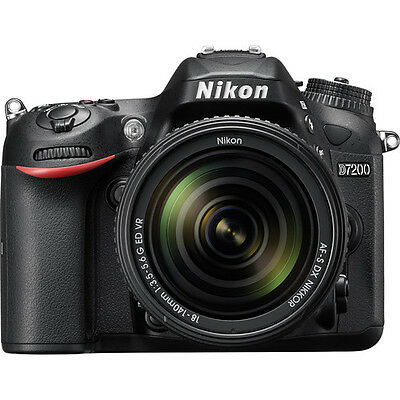 $1059.41 - Nikon D7200 Digital SLR Camera with 18-140mm VR Lens 1555