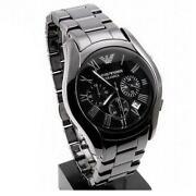 Mens Black Ceramic Watch