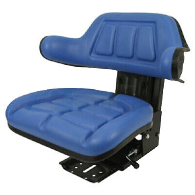Blue Ford New Holland 600 601 800 801 Wrap Back Tractor Suspension Seat Wd