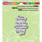 Stampendous Birthday Rubber Stamps