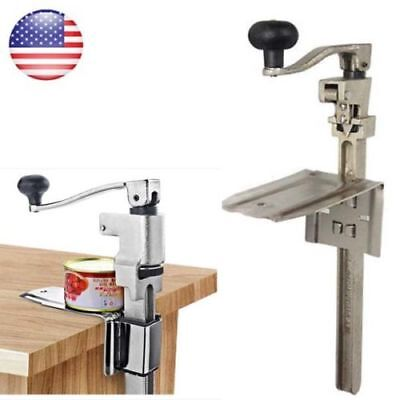 Heavy Duty Table Bench Clamp Commercial Can Opener Kitchen Restaurant Chef