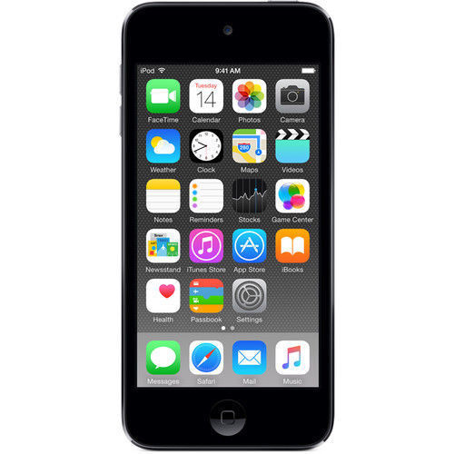 Apple iPod touch 128 GB MP3 Player (6th Generation Latest Model) Space Gray MKWU2LL/A