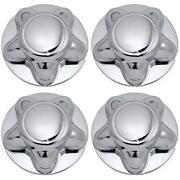 Chrome Rim Center Caps
