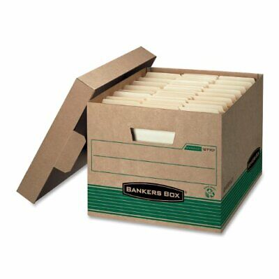 Bankers Box Recycled Storfile - Letterlegal - Stackable - Medium Duty - 10.3