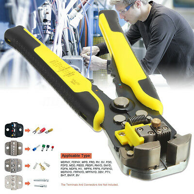 Cable Wire Stripper Cutter Crimper Automatic Multifunctional Plier Electric
