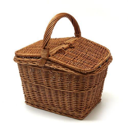 Wicker Picnic Basket Ebay