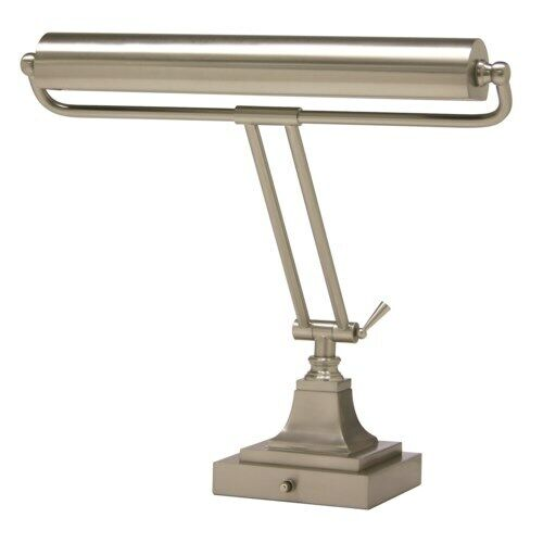 House of Troy Satin Nickel Piano Lamp P15-83-52 Desk Lamp Light