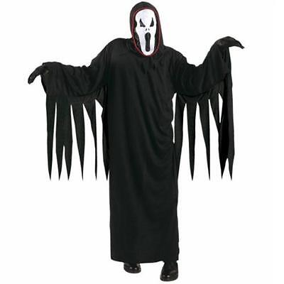 KINDER GEISTERKOSTÜM 134/140 f. 8 - 10 J Karneval  Geister Scream Kostüm 3812 ()