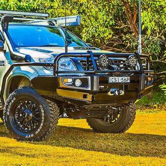 NEW 4x4 4WD Premium Bullbar for a Toyota Hilux 2005+ ONLY $1250