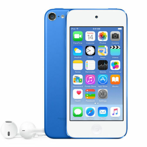 Ipod Touch - Apple iPod Touch 6th Generation 16GB Blue MKH22LL/A