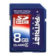 SanDisk 8GB SDHC Class 6