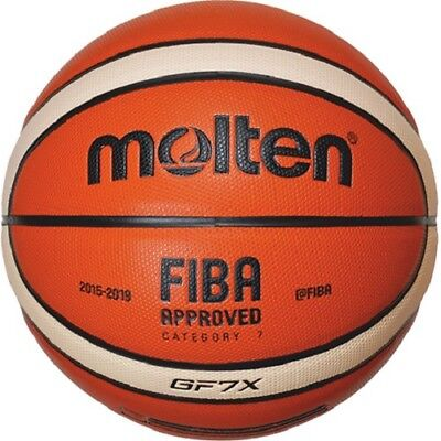 molten Basketball GF7X - Wettspielball aus Premium Composite Leder - BGF7X