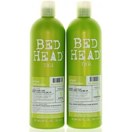 TIGI Bed Head Re-Energize Shampoo and Conditioner Duo, 25.36