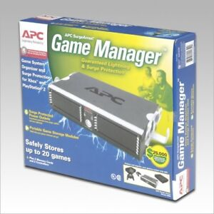 APC SurgeArrest GM6 Game Manager Surge Protector (6 Outlets)