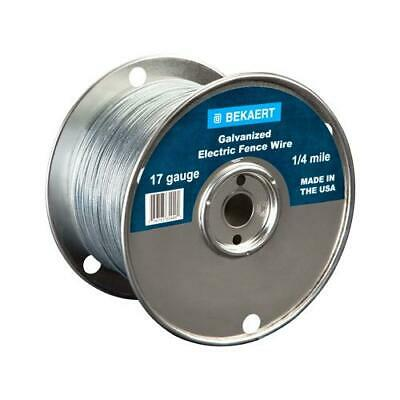 17-gauge Electric Fence Wire 1320-ft.
