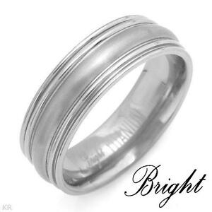 Brand New Titanium Wedding Bands for Guys -sizes 10, 11 & 12 London Ontario image 1
