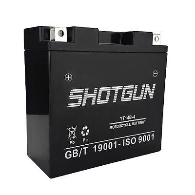 YT14B-BS SLA 12V Battery For Yamaha 1100 XVS1100 V-Star (All) 1999-2010 Model(s)