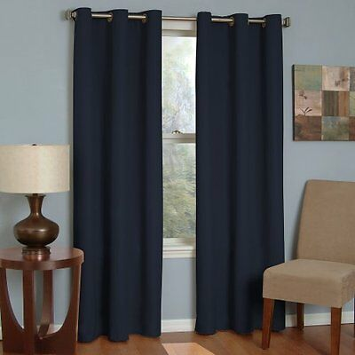 Eclipse Thermaback Microfiber Grommet Blackout Window Panel , New, Free (Eclipse Curtains Microfiber Grommet Blackout Window Panel)