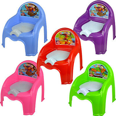 CHILDRENS POTTY CHAIR EASY CLEAN KIDS TODDLER TRAINING TOILET SEAT BOYS GIRLS