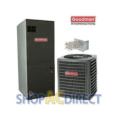 3 Ton Goodman Heat Pump Set-up GSZ130361 ARUF36C14