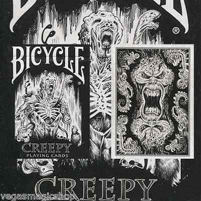 Creepy Deck Bicycle Playing Cards Poker Size USPCC Limited Edition New Sealed