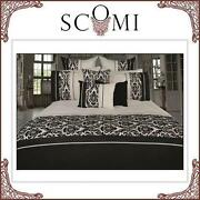 Black and White Queen Quilt Cover