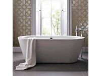 Trend 1500 Double Ended Free Standing Bath
