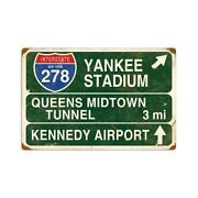 Yankee Stadium Sign