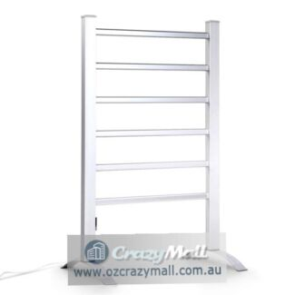 Free Standing Electric 6 Heated Rods Towel Rail