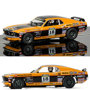 SCALEXTRIC Slot Car C3671 Ford Mustang Boss 302 1969 - John Bowe
