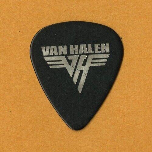Eddie Van Halen 1986 5150 concert Tour imprinted autographed band Guitar Pick