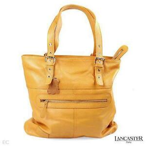 GENUINE LANCASTER ITALIAN MADE CALF LEATHER PURSE RETAIL $936.00