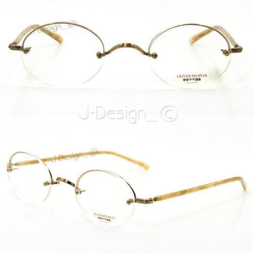 Half Rimless Eyeglass Frames Ebay